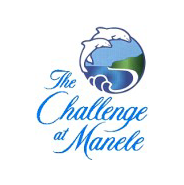 Logo of golf course named The Challenge at Manele