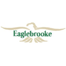 Logo of golf course named The Club at Eaglebrooke