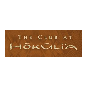 Logo of golf course named The Club at Hokuli'A