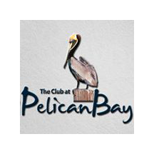 Logo of golf course named The Club at Pelican Bay