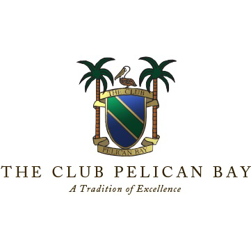 Logo of golf course named The Club Pelican Bay