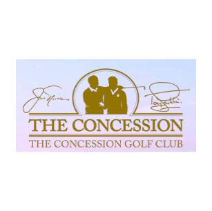 Logo of golf course named The Concession Golf Club