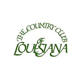 Logo of golf course named The Country Club of Louisiana