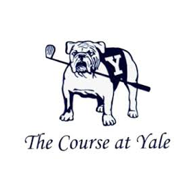 Logo of golf course named The Course at Yale