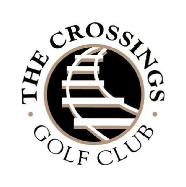 Logo of golf course named The Crossings