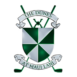 Logo of golf course named The Dunes at Maui Lani Golf Course