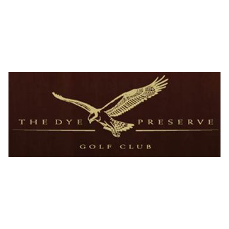 Logo of golf course named The Dye Preserve