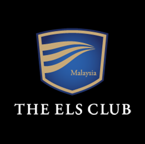 Logo of golf course named The Els Club Teluk Datai