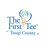 Logo of golf course named The First Tee of Troup County