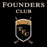 Logo of golf course named The Founders Golf Club