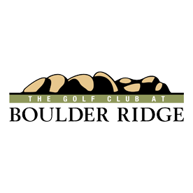Logo of golf course named The Golf Club at Boulder Ridge