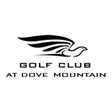 Logo of golf course named The Golf Club at Dove Mountain