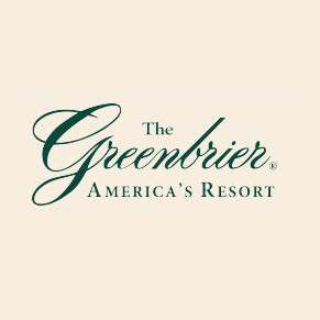 Logo of golf course named The Greenbrier