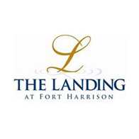 Logo of golf course named The Landing at Fort Harrison