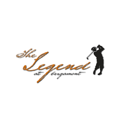 Logo of golf course named The Legend at Bergamont