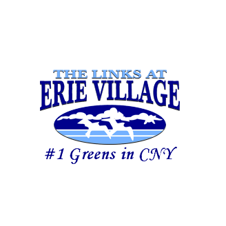 Logo of golf course named The Links at Erie Village