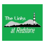 Logo of golf course named The Links at Redstone