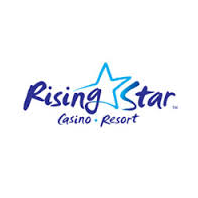 Logo of golf course named The Links at Rising Star Casino
