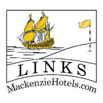 Logo of golf course named The Links Country Park Hotel and Golf Club