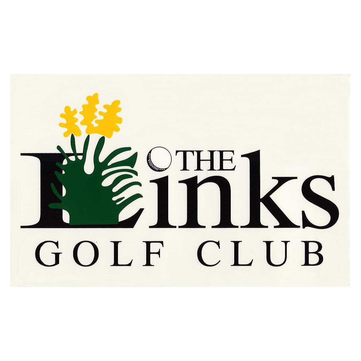 Logo of golf course named The Links Golf Club