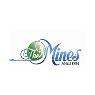 Logo of golf course named The Mines Resort and Golf Club