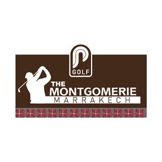 Logo of golf course named The Montgomerie Marrakech