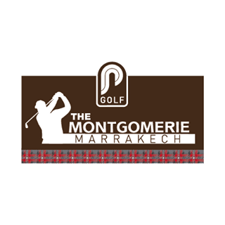 Logo of golf course named The Montgomerie Marrakech