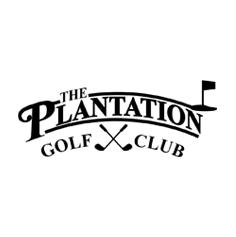 Logo of golf course named The Plantation Golf Club