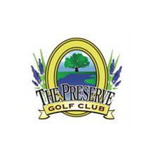 Logo of golf course named The Preserve Golf Club