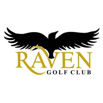 Logo of golf course named The Raven Golf Club at Three Peaks