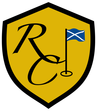 Logo of golf course named The Renaissance Club