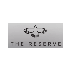 Logo of golf course named The Reserve Club
