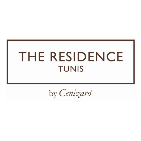 Logo of golf course named The Residence Tunis