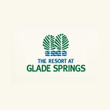 Logo of golf course named The Resort at Glade Springs