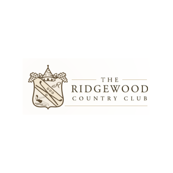 Logo of golf course named The Ridgewood Country Club