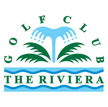 Logo of golf course named The Riviera Golf Club