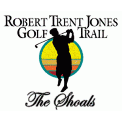 Logo of golf course named The Shoals Golf Club