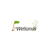 Logo of golf course named The Wetlands Golf Course