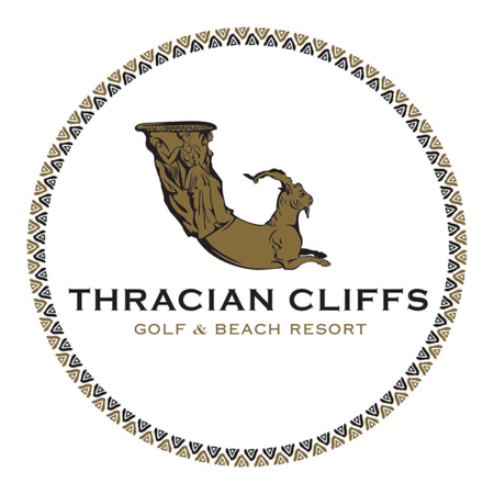 Logo of golf course named Thracian Cliffs Golf and Beach Resort