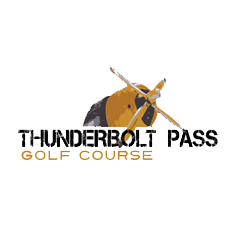 Logo of golf course named Thunderbolt Pass Golf Course