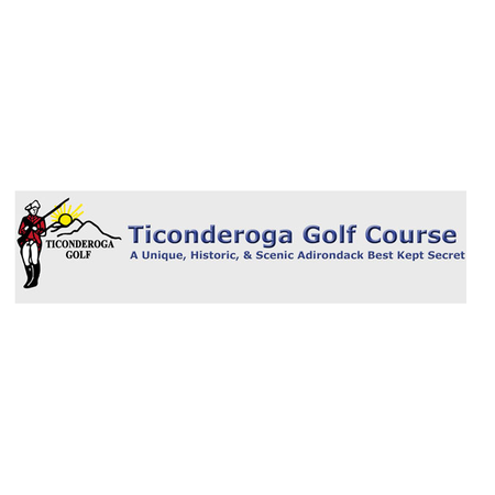 Logo of golf course named Ticonderoga Country Club