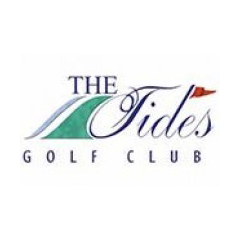 Logo of golf course named Tides Golf Club