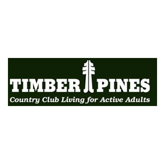 Logo of golf course named Timber Pines Golf Course