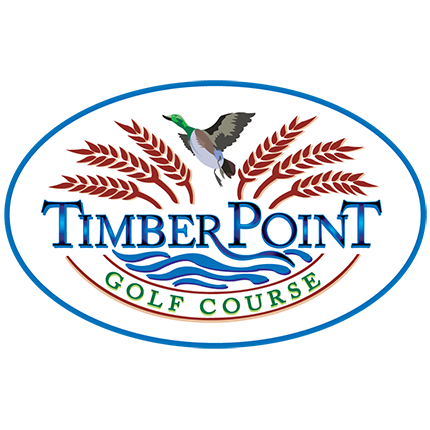 Logo of golf course named Timber Point Golf Course