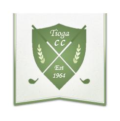 Logo of golf course named Tioga Country Club