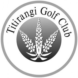 Logo of golf course named Titirangi Golf Club Incorporated