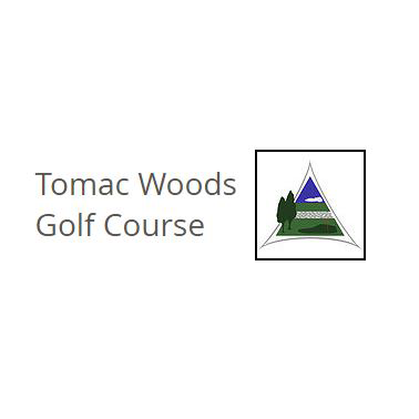 Logo of golf course named Tomac Woods Golf Course