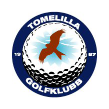 Logo of golf course named Tomelilla Golfklubb