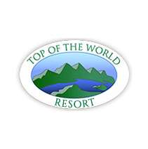 Logo of golf course named Top of The World Golf Resort