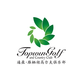 Logo of golf course named Topwin Golf and Country Club